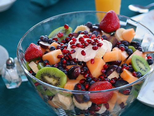Looks like the best bowl of fruit Ever!  Why am I not eating this Right Now?
