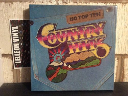150 Top Ten Country Hits LP Box Set (8 LP's) GTEN-B-079 Country & Western Music:Records:Albums/ LPs:Country