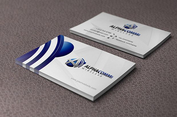 91 best 3d business cards images on pinterest 3d business card excellent designed networking double sided alphacomm wireless business cards templates wajeb Image collections