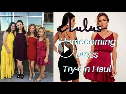 98f96097a95 Lulu s Homecoming Dress Try On Haul Lulu s Homecoming Dress Try On Haul  Lulu s Try On Haul Homecoming Dress Shopping Lulu s Prom Dress Try O…