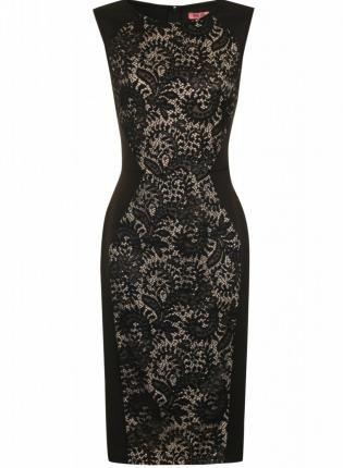 lace lbd #bodycon #blackdress