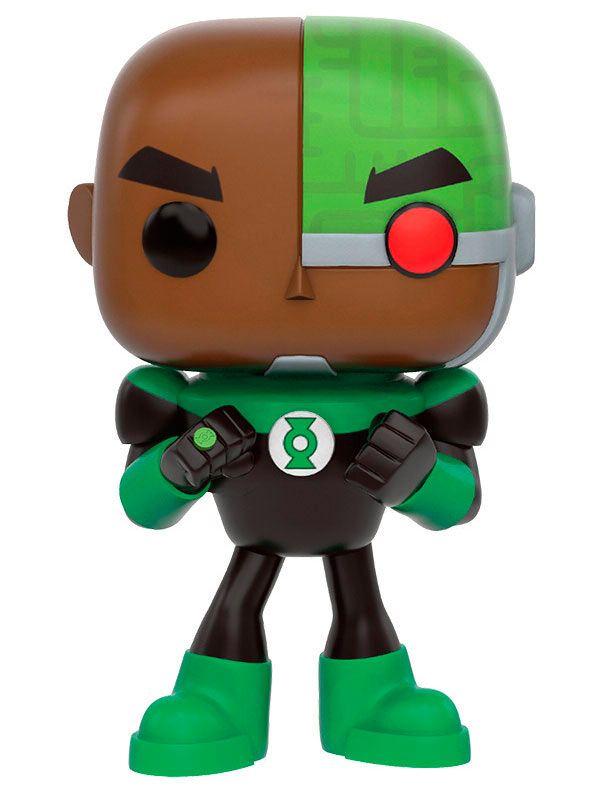 Cabezón Cyborg as Green Lantern 9 cm. Teen Titans Go!. Línea POP! Television. DC Cómics. Funko Estupendo cabezón de 9 cm del personaje Cyborg convertido en Green Lantern, fabricado en vinilo de alta calidad y 100% oficial y licenciado perteneciente a la serie animada titulada Teen Titans Go!. Es perfecto como detalle o regalo.