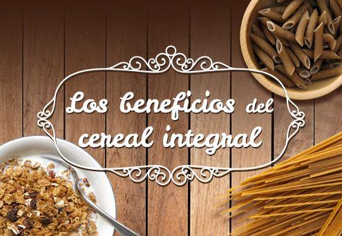 Los cereales integrales se han convertido en la base de la alimentación sana y equilibrada, siendo uno de los ingredientes indispensables por su aporte de energía, fibra, vitaminas y minerales. Consúmelos al desayuno, en tus colaciones, comidas y a la hora de preparar tus recetas. Así estarás aportando todos sus beneficios a tus recetas.