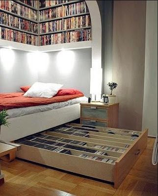 Made by Me. Shared with you.: Book Shelf: Organization Inspiration-Borrowed Ideas
