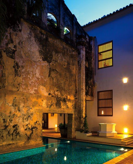 Casa San Agustin Boutique Hotel in Cartagena Colombia : Architectural Digest