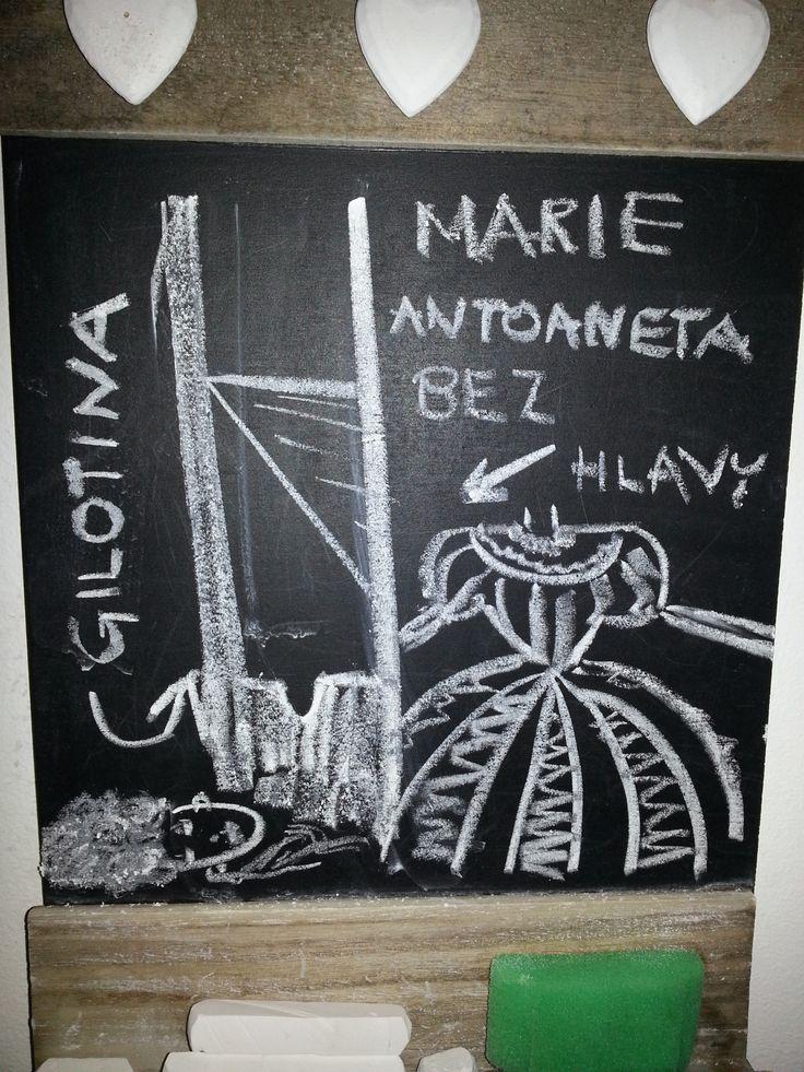 Execution of Marie Antoinetta