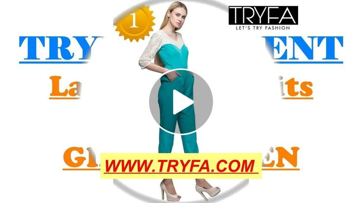 Checkout on Roposo.com - Jumpsuits for girls online   new design jumpsuits   Latest jumpsuits - TRYFAnew jumpsuits for girls/women   Latest dresses for women -TRYFA