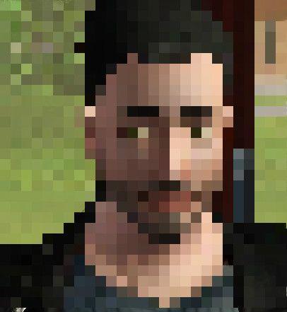 Me in pixels!