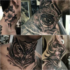 100+ Best Neck Tattoo Designs – Creative Neck Tattoo Ideas – Gallery
