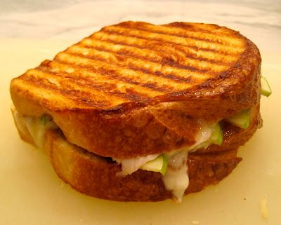 The Wooden Spoon Diaries: Turkey, Brie & Apple Panini with Fig Jam