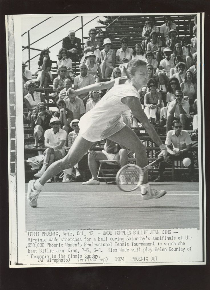 Original October 12 1974 Virginia Wade Beats Billie Jean King Tennis Wire Photo  Price : 45.00  Buy it now price :  Current bids :  Ends on : 5 days  Shop now  - https://lastreviews.net/sports-fitness/tennis/original-october-12-1974-virginia-wade-beats-billie-jean-king-tennis-wire-photo/