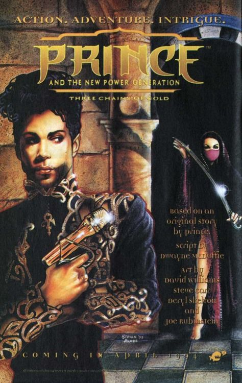 That time PRINCE had his own comic. PRINCE.: Shades, Actually Books, In Love, Minis Dog Qu, Houses Ads, Posts, Side Note, Actually Comic, Prince Comic