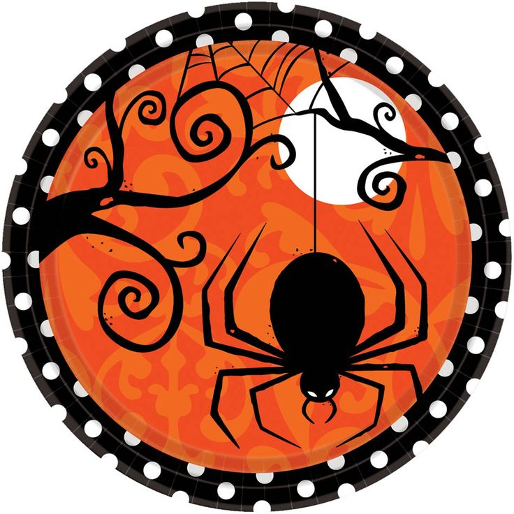 Halloween plate - would make a cute center medallion on a quilt