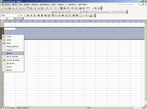 Filas hoja Excel - Imprimir pantalla Microsoft Excel Y. Cuesta
