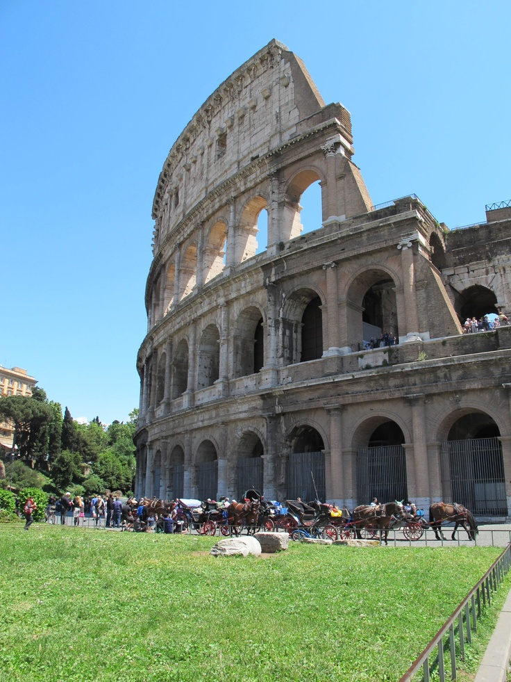 Go to Rome and see the colleseum and other historical monuments