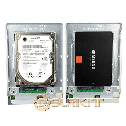 """Amazon.com: General 2.5"""" SSD to 3.5"""" SATA Hard Disk Drive HDD Adapter CADDY TRAY CAGE Hot Swap Plug: Computers & Accessories"""