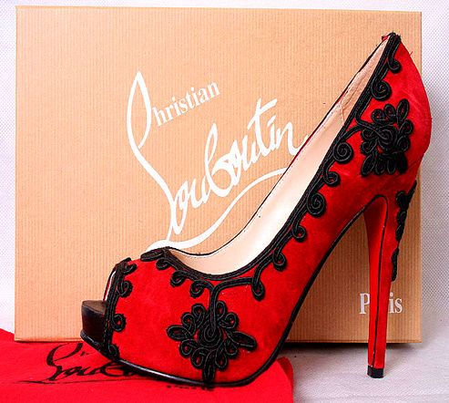 red: Redblack, Woman Fashion, Dreams, Red Shoes, Christian Louboutin Shoes, Hot Heels, High Heels, Red Pumps, Red Black