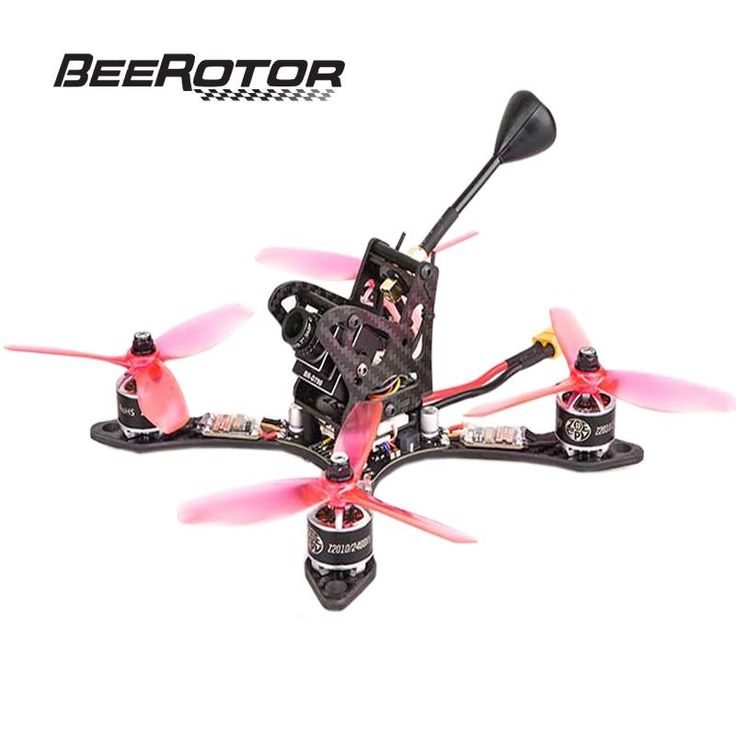 BeeRotor Thunderbolt 190mm FPV Racing Quadcopter ARF Kit DSHOT Version with 2400KV Motor/5045 Props/F3 Flight Controller Combo