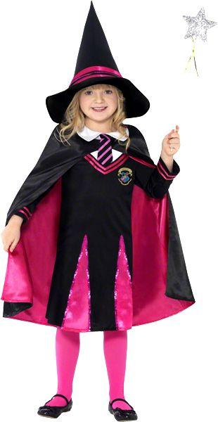 http://cbodeco.com/theme-halloween-decoration-a-theme/1393-deguisement-sorciere-ecoliere-5020570187425.html #halloween #deguisement #enfant #sorciere