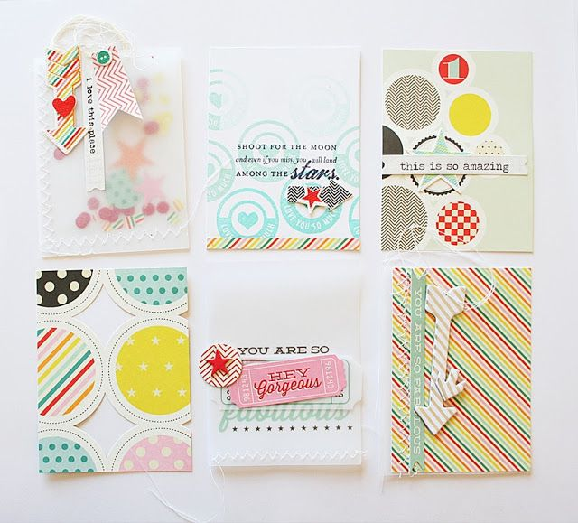 DIY make your own Project Life cards from your stamps and stash | Danielle Flanders