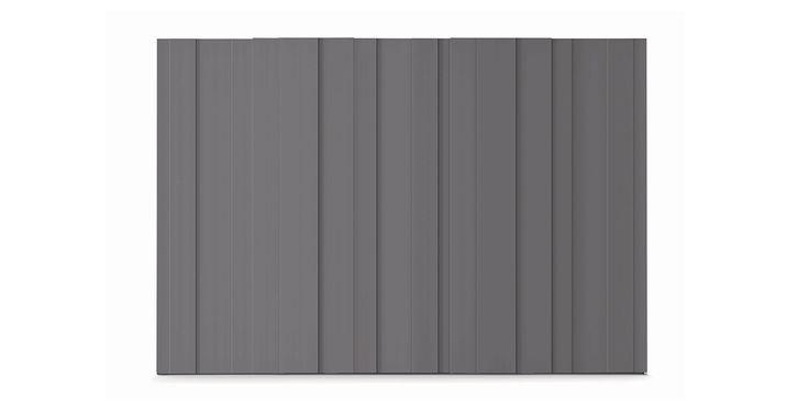 Plissé, Wardrobes, Products   Novamobili. New, compact volumes emerge from the repetition of the rectangular module.  #wardrobe by #Novamobili. #interior #design #aboutWARDROBE #slidingdoor