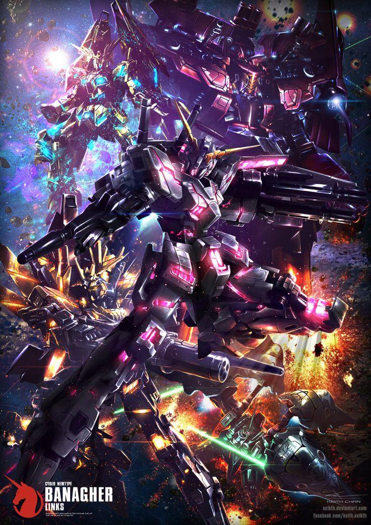 Gundam Digital Art Works by Keith Chan Xeikth - Gundam Kits Collection News and…