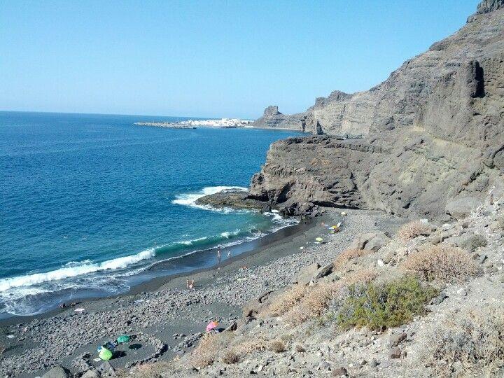 Playa de guayedra en agaete canarias cerrajeros galdar - Fontaneros en tenerife ...