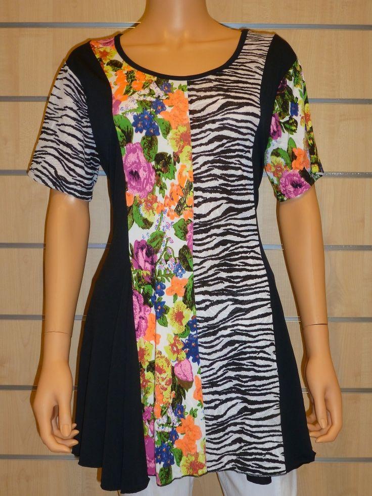 Tunique p3659 noir purplerose 1 1. Boutique1TunicsPlus SizeBlack  PeopleBoutiques