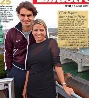 Diana Federer's message to her little brother on his 30th birthday.