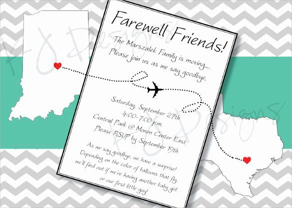 Farewell Invitation Template Luxury Sample Farewell Invitation Template 8 Download Party Invite Template Invitation Template Farewell Party Invitations