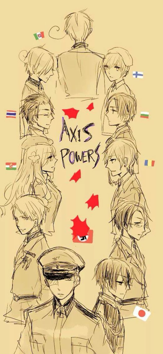 Hetalia: Axis Powers. Artist unknown. If you are the artist or know the artist please let me know so I can credit properly or take this art down from my board if you wish.