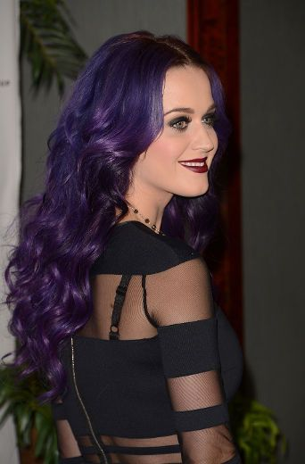 Katy Perry - Gothic Hair, mine isnt that purple but I love it