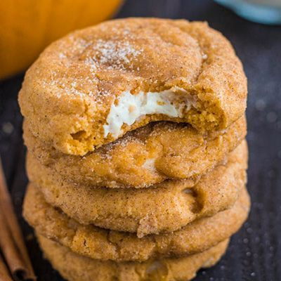 Pumpkin Cheesecake Snickerdoodles OH MY GOODNESS!