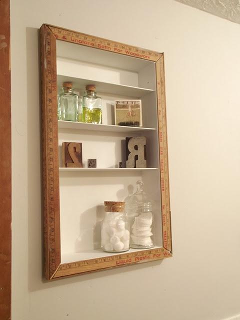 recessed shelving frames diystorage