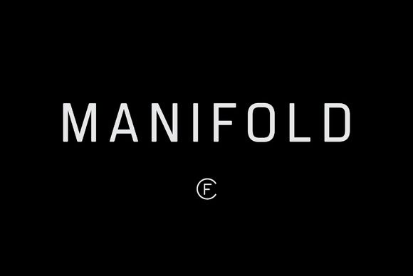 Manifold CF Utilitarian Sans Font by Connary Fagen Type Design on @creativemarket