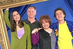 Even Stevens - (1999-2003). Starring:   Shia LaBeouf, Christy Carlson Romano, Nick Spano, Tom Virtue, Donna Pescow, A.J. Trauth and Steven Anthony Lawrence. Partial Guest List: Dave Coulier, Danica McKellar, Richard Kind, Mindy Sterling, J.P. Manoux, Robert Pine, Jason Marsden, Phyllis Diller and Kathryn Joosten.