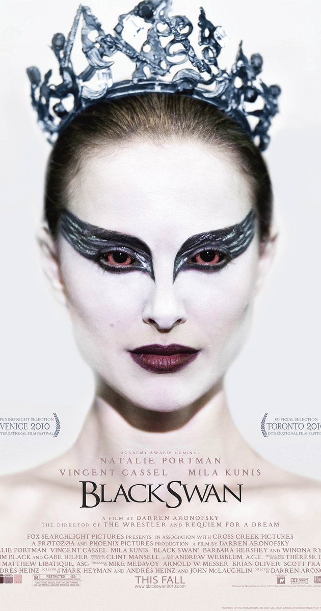 "Directed by Darren Aronofsky.  With Natalie Portman, Mila Kunis, Vincent Cassel, Winona Ryder. A committed dancer wins the lead role in a production of Tchaikovsky's ""Swan Lake"" only to find herself struggling to maintain her sanity."