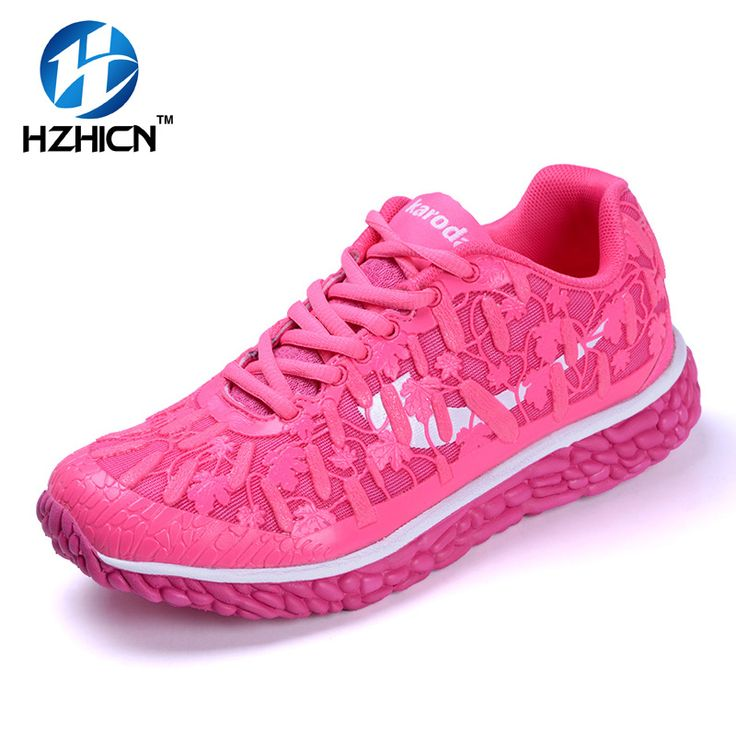 2017 Casual Shoes Ladies Shoes Fashion Breathable Outdoor Shoes For Women Lace Up Trainers Walking Shoes For Women 35-40 HZHICN