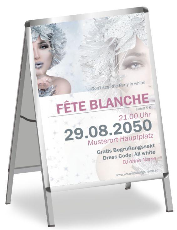 So wird deine Werbung individuell und exklusiv #poster #plakate #plakat #fete #blanche #posterdesign #plakatdesign #onlinedruckerei #onlineprintxxl