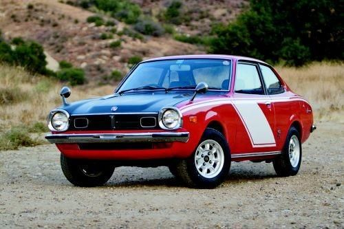 Photo Courtesy: Jeff Koch ''King of Cars'' - 1973 Mitsubishi Lancer 1600GSR
