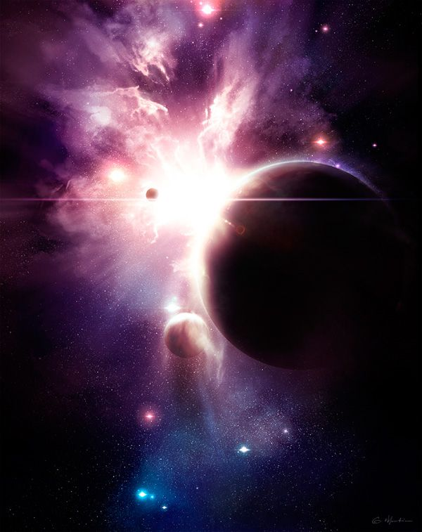 39 best outer space project images on pinterest outer for Outer space scene