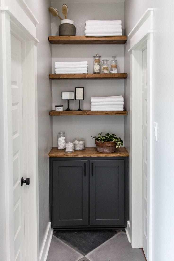 Best 87 bathroom images on pinterest home decor for Bathroom decor fixer upper