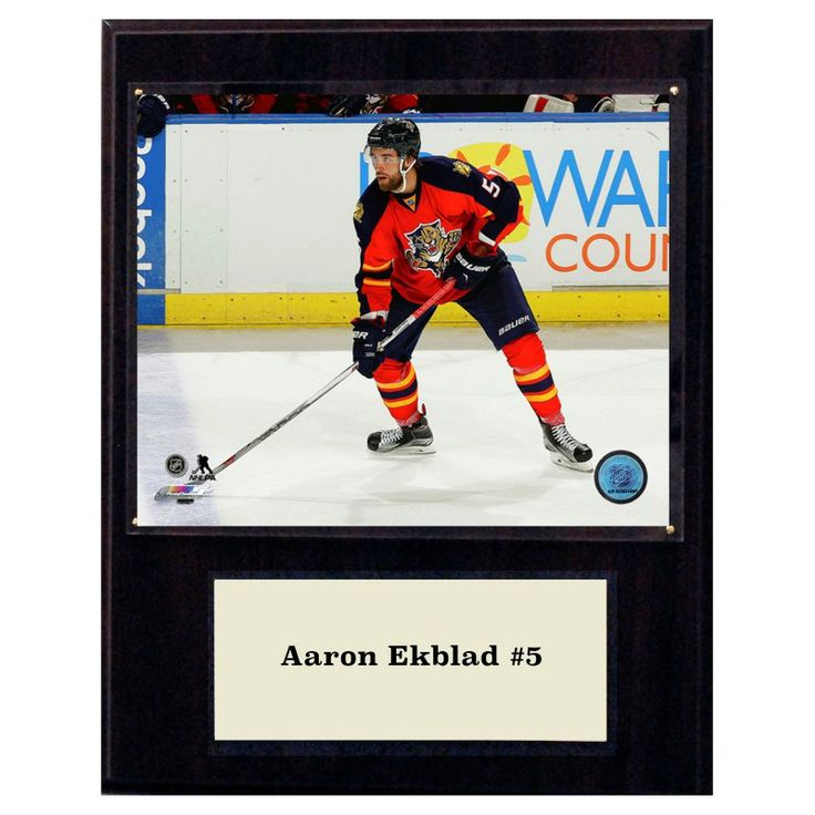 C and I Collectables NHL 15W x 12H in. Aaron Ekblad Florida Panthers Player Plaque - 1215EKBLAD