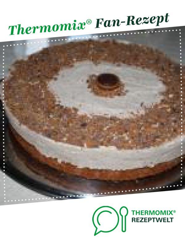 Toffifee Torte Rezept In 2020 Toffifee Torte Thermomix Kuchen Toffifee Kuchen