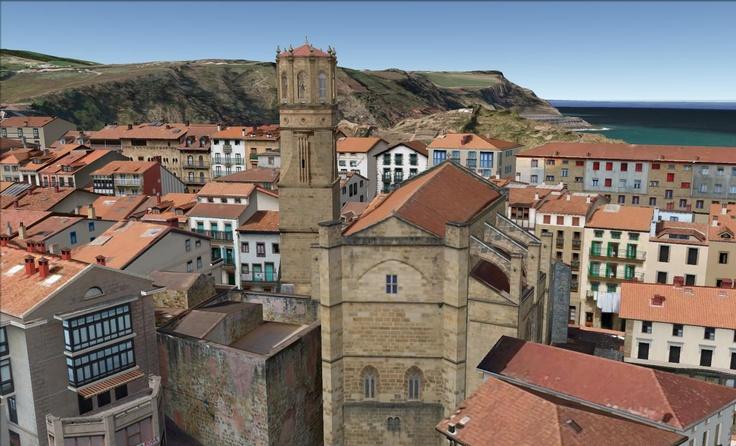 getaria, spainSketchup Islands, Basque Country, Gipuzkoa Euskadi, Getaria Win, Euskal Herria Basque
