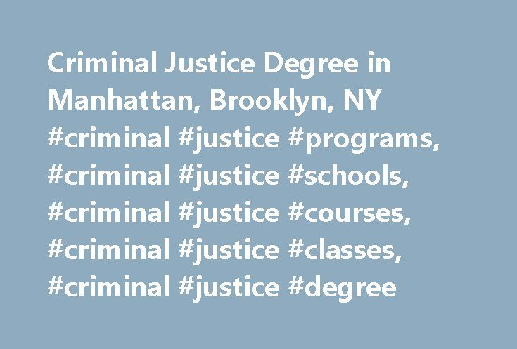 Criminal Justice Bachelor\'s Degree