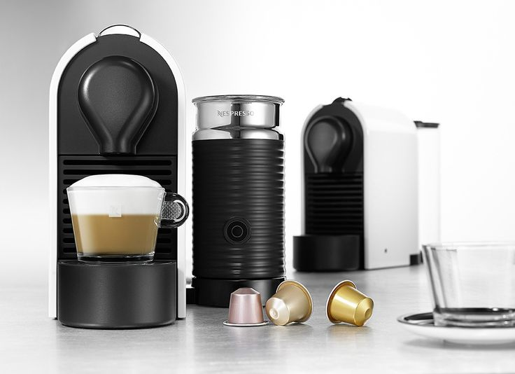 Nespresso Coffee Machines >> Compact, sophisticated and very convenient. This model is the UMilk by Australian Manufacturer - Breville.