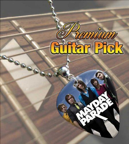Printed Picks Company Mayday Parade Premium Guitar Pick Necklace by Printed Picks Company. Save 22 Off!. $10.99. Mayday Parade Premium Guitar Pick Necklace
