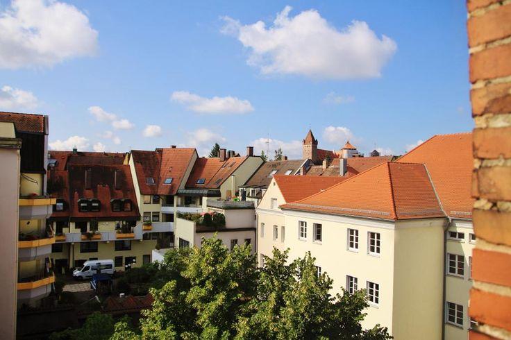Tolle Aussicht: Schönes 20m² Zimmer in 4er WG - WG Zimmer in Nürnberg-Gärten h.d.Veste #Nürnberg #Aussicht