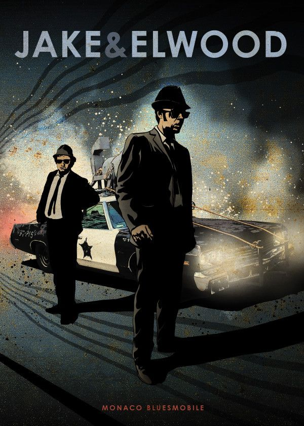 The Blues Brothers by Eden Design | metal posters |